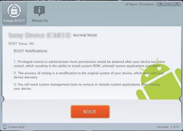 Простой способ получения root на Sony Xperia Z Ultra и Xperia Z1