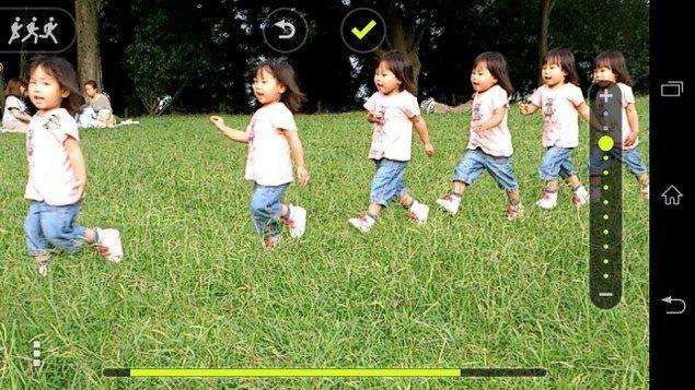 Motion Shot – создание анимаций и интересных фото в Sony Xperia