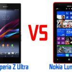 Обзор и сравнение Nokia Lumia 1520 и Sony Xperia Z Ultra – смартшеты для ценителей