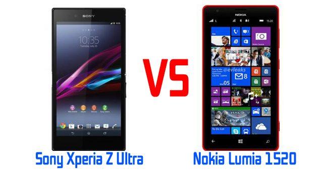 Обзор и сравнение Nokia Lumia 1520 и Sony Xperia Z Ultra
