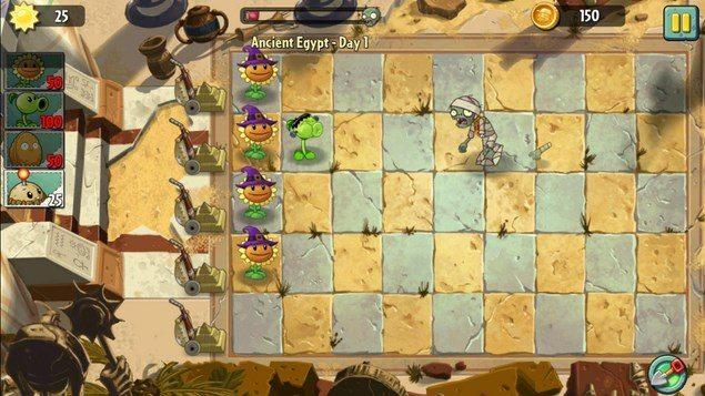 Plants vs. Zombies 2 – растения мочат зомби для Sony Xperia Z1, Z, M, V, S, J, L, Ultra,Tablet