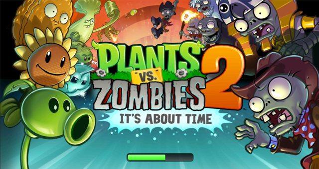 Plants vs. Zombies 2 – растения мочат зомби