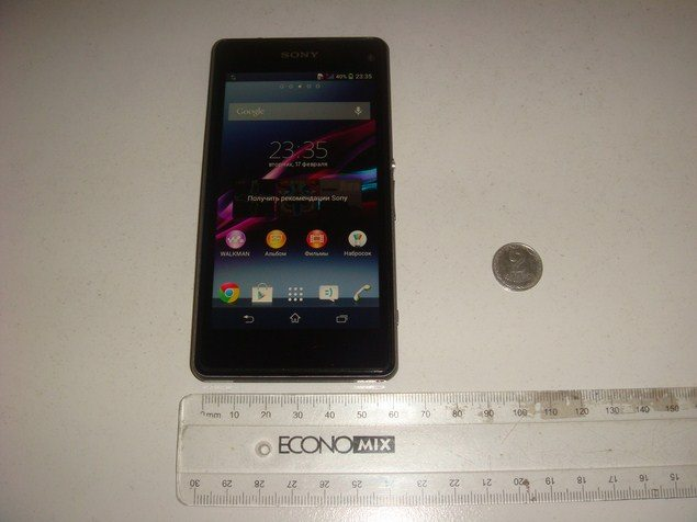 Sony Xperia Z1S Mini был засвечен на фото – информация о смартфоне, скриншоты экрана