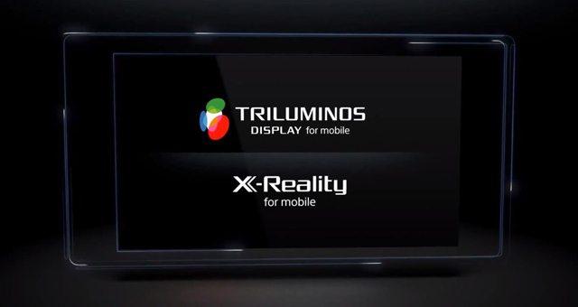 технология экрана TRILUMINOS и X-Reality