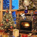 Christmas Fireplace – новогодняя комната на Сони Иксперия