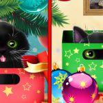 Новогодний Котенок – живые обои для Sony Xperia