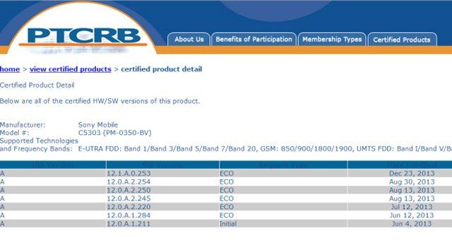 Сертифицирована прошивка Android 4.3 12.1.A.0.253 для Sony Xperia SP