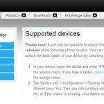 Разблокировка загрузчика на Sony Xperia Z1 с Android 4.3 больше не грозит отключением камеры