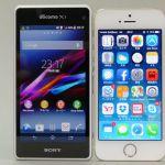 Sony Xperia Z1 f Mini забрал лидерство у iPhone 5 на японском рынке