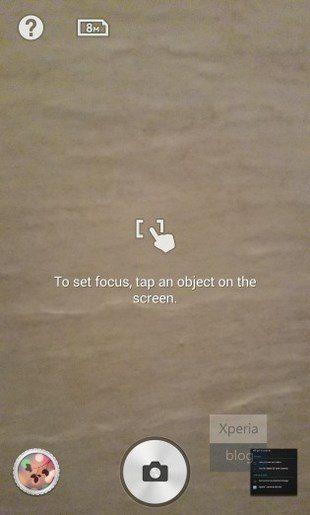 Background Defocus для Sony Xperia Z1, Z Ultra, Z, ZL, ZR