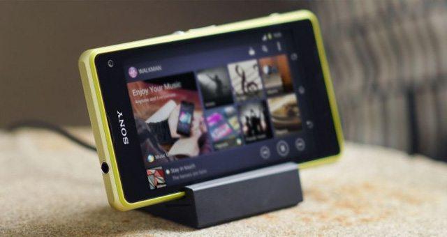 Док-станция DK32 для мини-флагмана Sony Xperia Z1 Compact