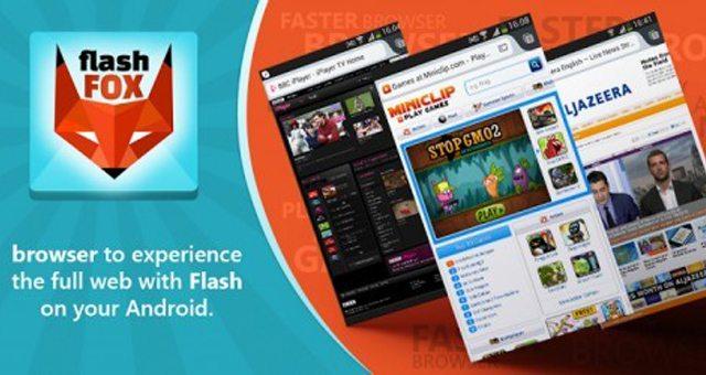 Флеш браузер FlashFox Pro для Android и Sony Xperia