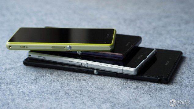 Сравнение смартфонов Sony Xperia Z, Z1, Z Ultra и Z1 Compact - дизайн и внешний вид