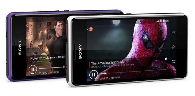 Смартфон Sony Xperia E1 (Dual)  с музыкальной ориентацией