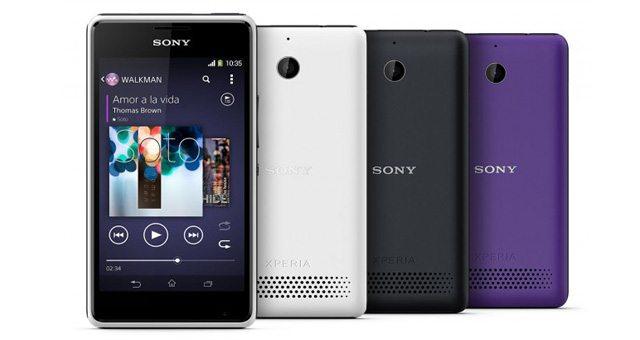 Музыкальный смартфон Sony Xperia E1 и Dual версия