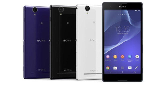 Новый смартфон Sony Xperia T2 Ultra (D5303) и Xperia T2 Ultra Dual (D5322) с большим дисплеем