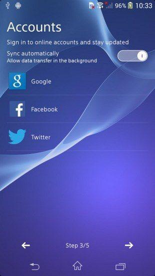 Интерфейс и характеристики Sony Xperia D6503 Sirius