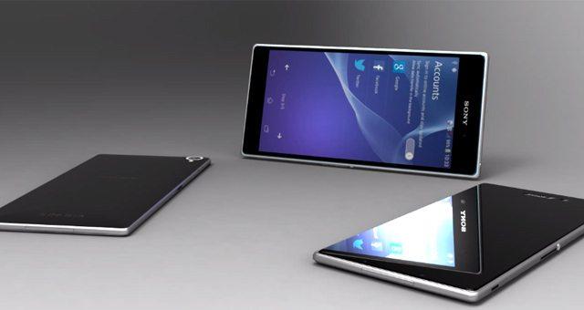 Концептуальный Sony Xperia Z2