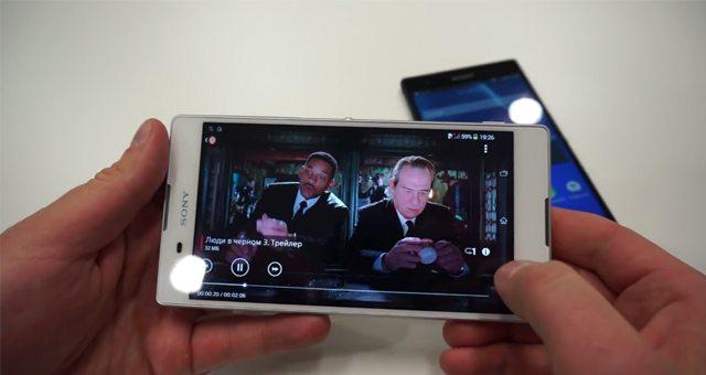 Видео знакомство с Sony Xperia T2 Ultra