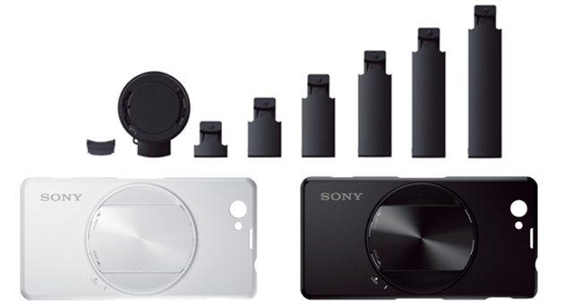 Кейсы Sony SPA-ACX3, SPA-ACX4 и крепления Sony SPA-TA1