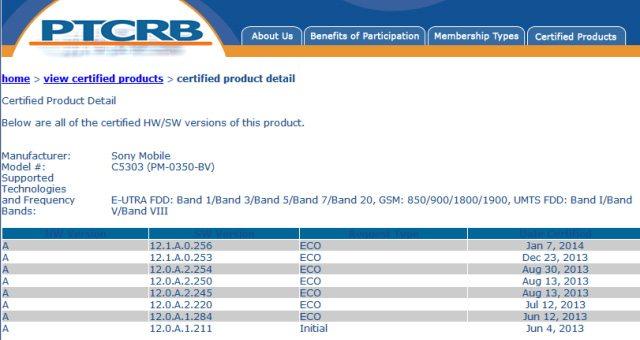 Прошли сертификацию прошивки Android 4.3 Sony Xperia SP, V, T