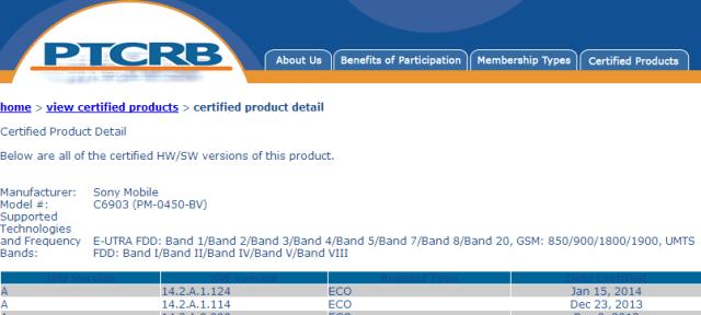 Обновление 14.2.A.1.124 для Sony Xperia Z1 и Xperia Z Ultra