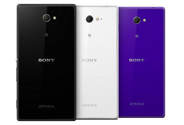 Смартфон Sony Xperia M2 - дизайн устрйоства