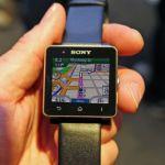 Sony и Garmin работают над приложением-навигатором для SmartWatch 2