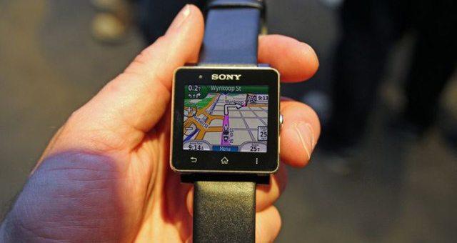Приложение-навигатор от Garmin появится в Sony SmartWatch 2