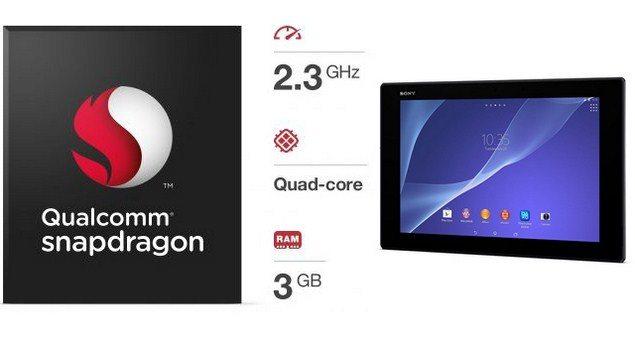 Планшет Sony Xperia Tablet Z2 - характеристики устрйоства