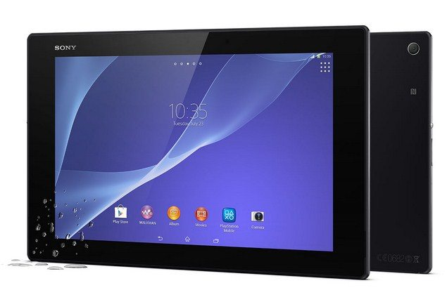 Планшет Sony Xperia Tablet Z2 - дизайн и параметры гаджета