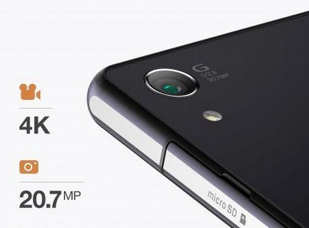 Новый флагман Sony Xperia Z2 - характеристики камеры