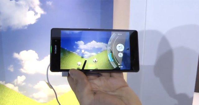 Видео с примером работы Timeshift video на Sony Xperia Z2