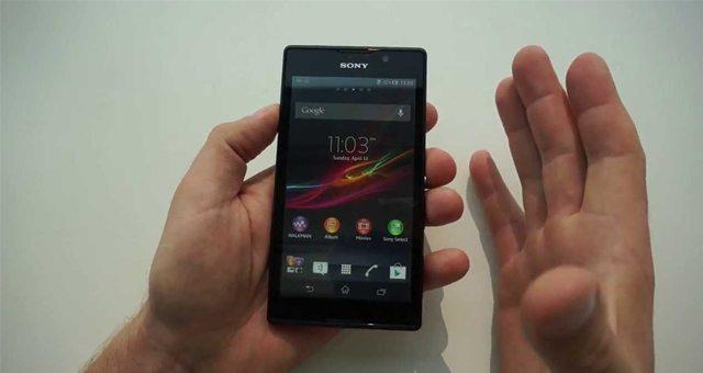 Рускоязычный видео обзор Sony Xperia C