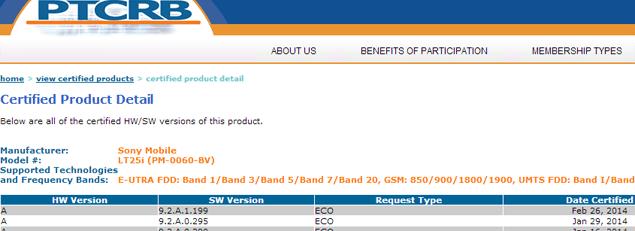 9.2.A.1.199 для Sony Xperia T и Xperia V