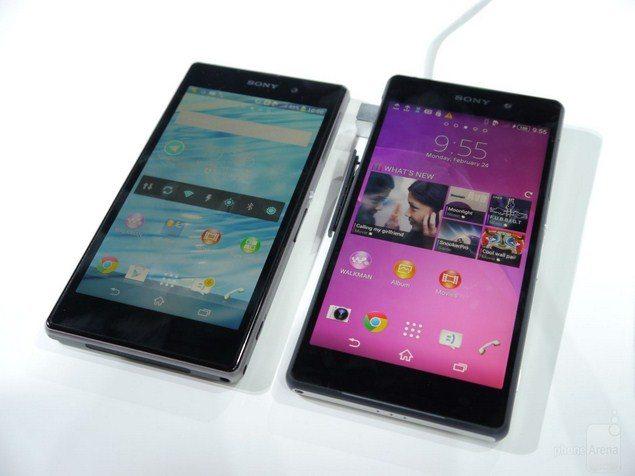 Новый Sony Xperia Z2 против Sony Xperia Z1 - сравнение характеристик