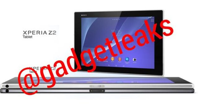 Информация и характеристики Sony Xperia Tablet Z2 - новый планшет
