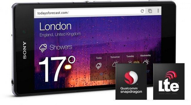 Новый флагман Sony Xperia Z2 - технические характеристики и производительность