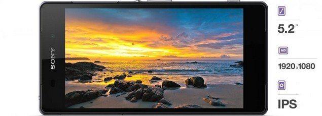Новый флагман Sony Xperia Z2 - дисплей характеристики