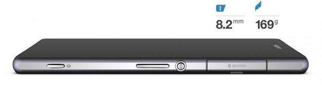 Новый флагман Sony Xperia Z2 - дизайн флагмана, габариты