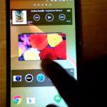 Небольшое видео с включенным Sony Xperia Sirius D6503