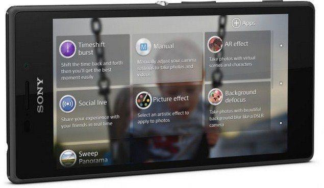 Смартфон Sony Xperia M2 - камера и её особенности