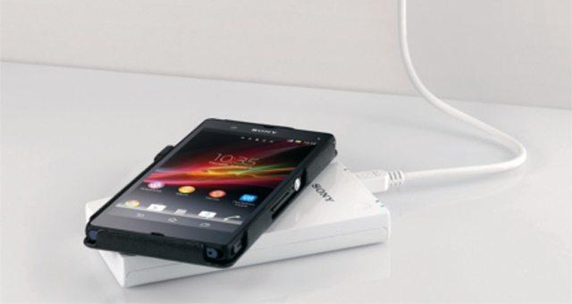 Индуктивная беспроводная зарядка Sony CP-W5