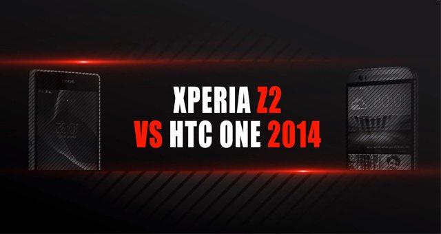 Sony Xperia Z2 против HTC One (M8) - первые сравнения (характеристики + видео)