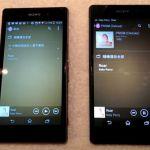 Демонстрация громкости и качества звука динамиков Sony Xperia Z2 против Xperia Z1