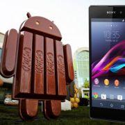 Началось обновление Android 4.4 KitKat (14.3.A.0.681) для Sony Xperia Z1, Z1 Compact, Z Ultra