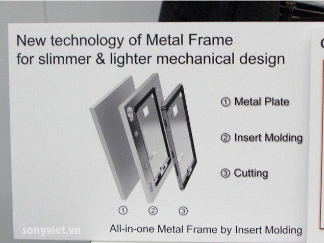 Особенности конструкции алюминиевой рамы Сони Иксперия Z2
