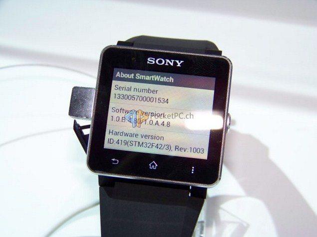 Близится обновление системы до версии 1.0.B.4.80 для Sony SmartWatch 2