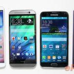 Сравнение Sony Xperia Z2 против Samsung Galaxy S5, HTC One M8, LG G Pro 2 – дизайн и дисплеи