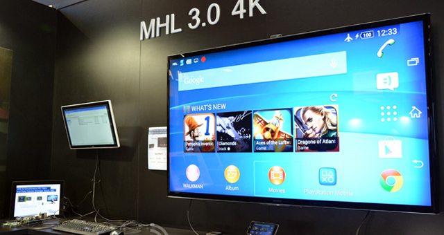 Sony Xperia Z2 и Tablet Z2 - первые устройства получившие поддержку стандарта MHL 3.0